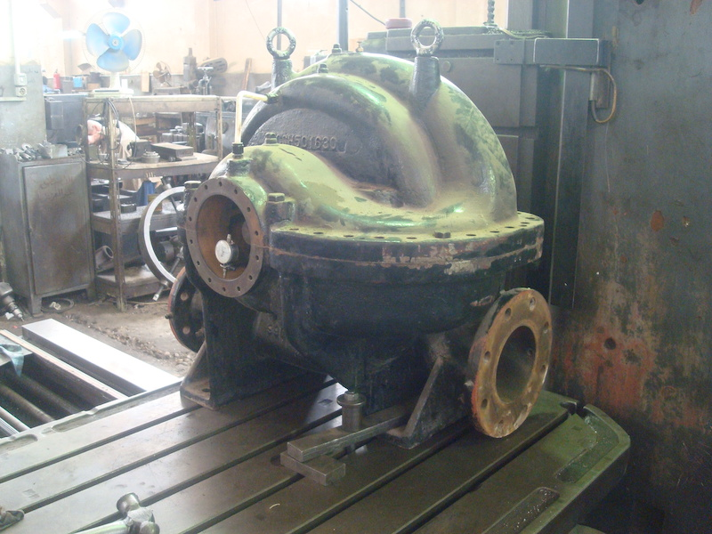 pumps manufacturing overhaul